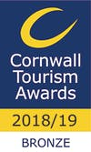 Cornwall Tourism Award 2018 Bronze