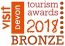 Devon Tourism Award 2018 Bronze